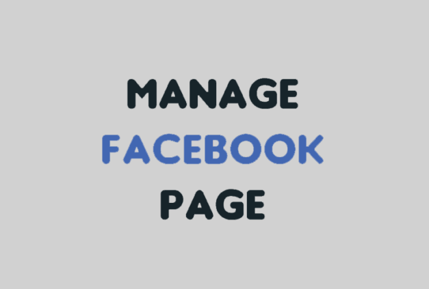 Facebook Page Management Service